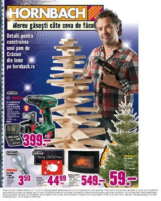Brazi la Hornbach - catalog - 02.12.2014 - 31.12.2014