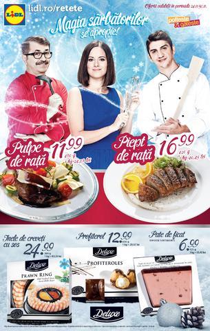 Lidl - magia sarbatorilor - catalog 24.11.20114 - 30.11.2014