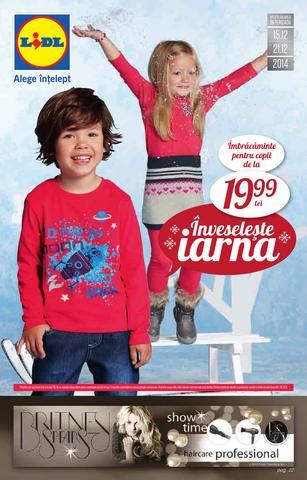 Lidl catalog - inveseleste IARNA 15.12.2014 - 21.12.2014