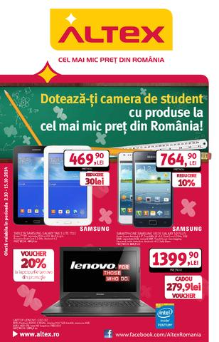Altex catalog STUDENESC 02.12.2014 - 15.12.2014