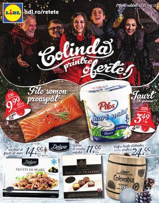 LIDL catalog disponibil prin posta  08.12.2014 - 14.12.2014