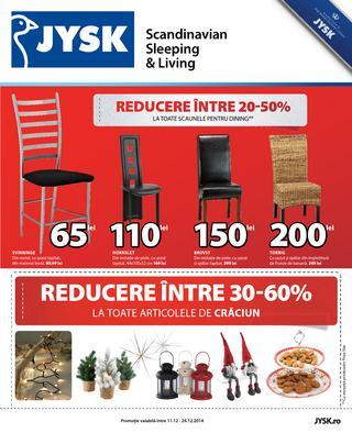 JYSK catalog de Craciun 2014/2015