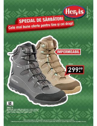 HERVIS SPORTS - catalog special de sarbatori 18.12.2014 - 25.12.2014