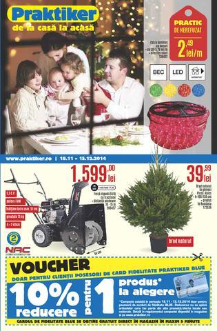 PRAKTIKER - catalog 18.11.2014 - 15.12.2014