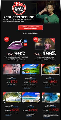 Black Friday continua la Carrefour 19.11.2014 - 30.11.2014