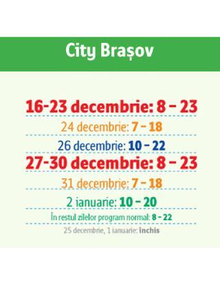 Auchan PROGRAM DE SARBATORI 16.12.2014 - 02.01.2015