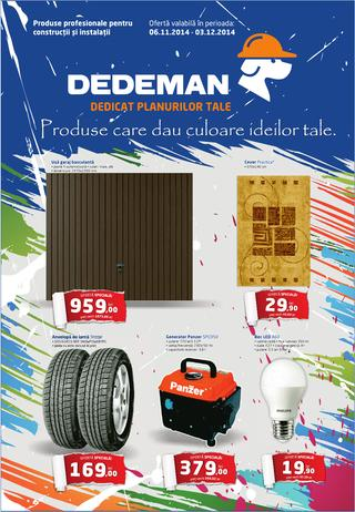 Dedeman catalog 06.11.2014 - 03.12.2014