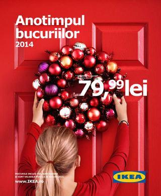 IKEA catalog - Anotimpul bucuriilor 2014 / 2015