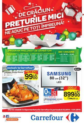 Carrefour catalog NON-ALIMENTAR 08.12.2014 - 04.01.2015