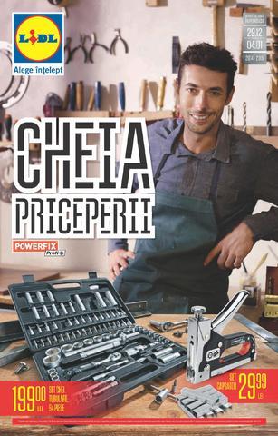 Lidl catalog - Cheia Priceperii 29.12.2014 - 04.01.2015