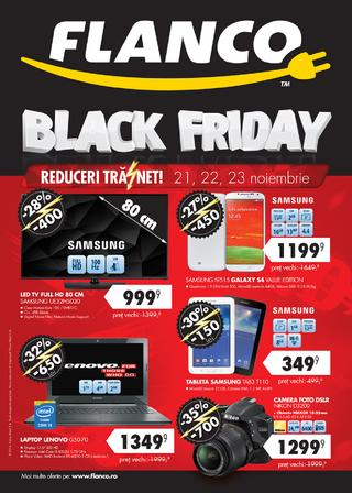 BLACK FRIDAY FLANCO catalog 21.11.2014 - 23.11.2014