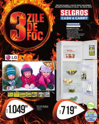 3 zile de FOC - Selgros online catalog 6 - 8 februarie 2015