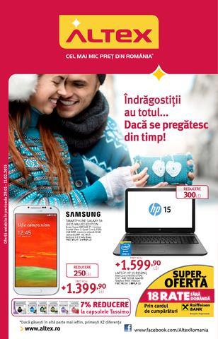 Altex online catalog 29 ianuarie - 11 februarie 2015