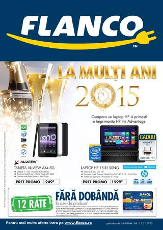 Flanco catalog - La Multi Ani 2015 - 04.01.2015 - 17.01.2015