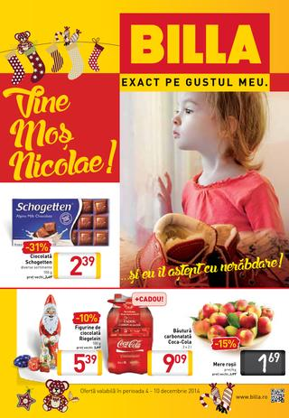 Billa - catalog promotional 02.12.2014 - 10.12.2014