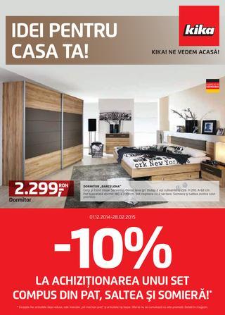 KIKA - IDEI pentru CASA TA - 01.12.2014 - 28.02.2015