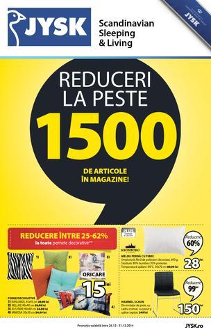 JYSK catalog 25.12.2014 - 31.12.2014