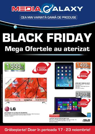 Media Galaxy - BLACK FRIDAY catalog 17.11.2014 - 23.11.2014