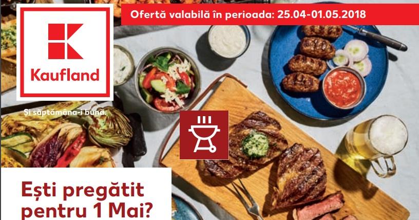 Catalog Kaufland 25 aprilie - 1 mai  2018