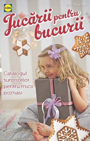 Lidl - catalog - jucarii pentru bucurii - 01.12.2014 - 07.12.2014