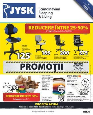 Jysk - catalog Promotii si Reduceri 02.01.2015- 14.01.2015