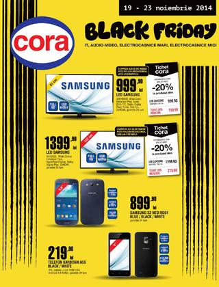 BLACK FRIDAY catalog CORA 19.11.2014 - 23.11.2014