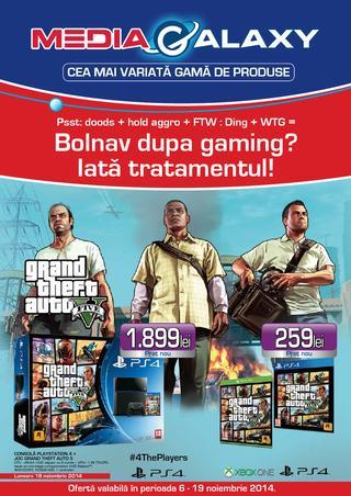 Media Galaxy - oferte 06.11.2014 - 19.11.2014