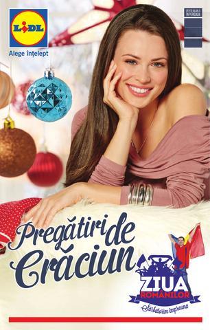 Lidl catalog - Pregatiri de Craciun 24.11.2014 - 30.11.2014