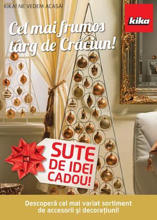 Kika - Sute de idei CADOU - catalog 15.11.2014 - 31.12.2014