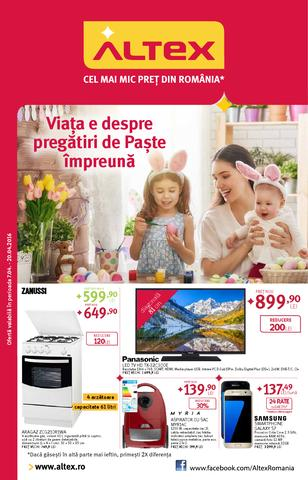 Altex catalog Viata e despre pregatiri de paste impreuna - 7-20 Aprilie 2016