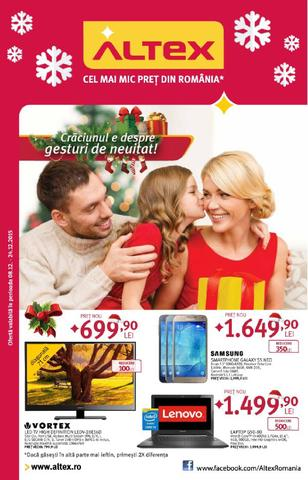 Altex - catalog - Gesturi de neuitat 8 - 24 decembrie 2015