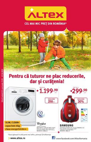 altex catalog septembrie octombrie 2015