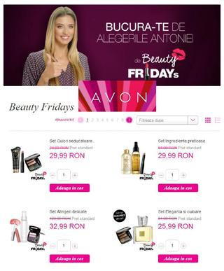 Avon catalog BEAUTY FRIDAYs