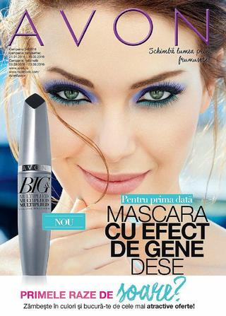 AVON catalog Mascara Cu Efect De Gene Dese c4 - 3 - 23 martie 2016
