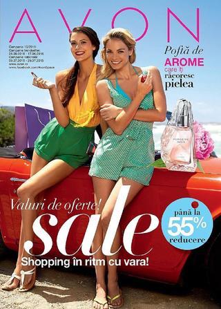Avon catalog campanie c10 valabil intre 9 - 29  iulie 2015
