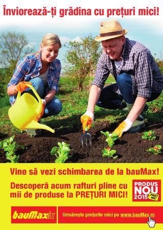 BAUMAX catalog februarie 2015