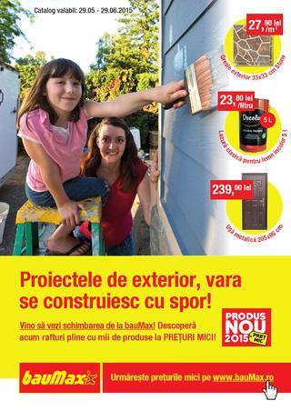 Baumax catalog 29 mai - 29 iunie  2015