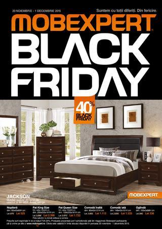 Black Friday la Mobexpert intre 20 noiembrie - 1 decembrie 2015