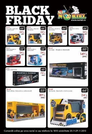 Black Friday la Noriel - catalog jucarii 20 - 29 noiembrie 2015