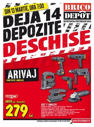Brico Depot - ONLINE catalog oferte 13 - 31 martie 2015