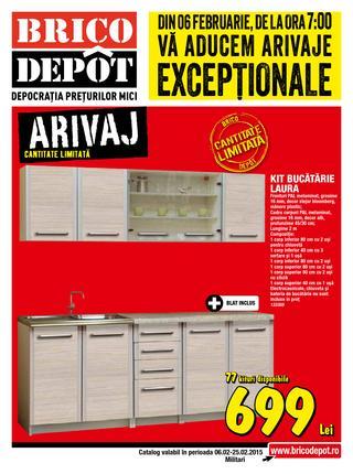 Brico Depot - catalog oferte 6 - 25 februarie 2015
