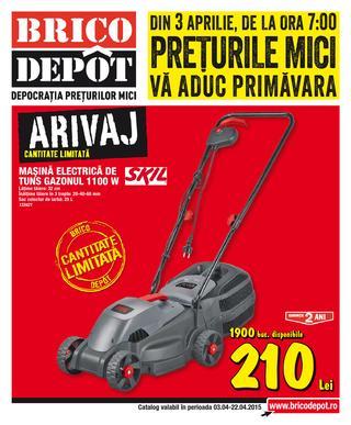 Brico Depot - ONLINE catalog oferte 3 - 24 aprilie 2015