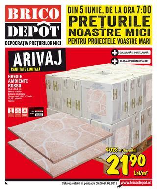 Brico Depot - catalog produse promo 5 - 28 iunie 2015