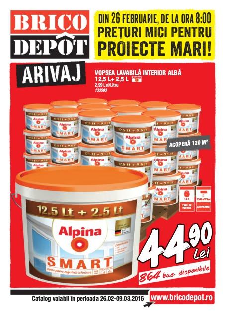 Brico Depot catalog Arivaj - 26 Februarie - 9 Martie 2016