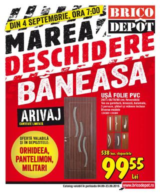 Brico depot catalog 3 septembrie 2015