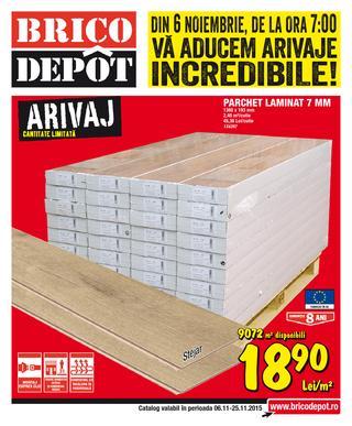 Brico Depot catalog Va Aducem Arivaje Incredible - 6-25 Noiembrie 2015
