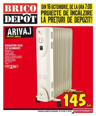 BRICO DEPOT catalog - 16 Octombrie - 4 Noiembrie  2015