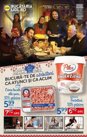 Bucura-te de sarbatori - catalog Lidl 21 - 27 decembrie 2015