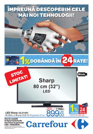 Carrefour Catalog Produse Electronice si Electrocasnice 5 - 18 februarie 2015