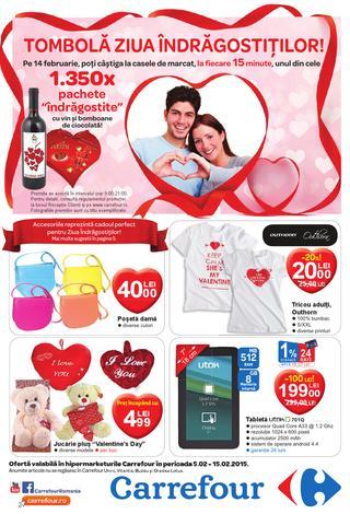 Carrefour cataloage 5 - 15 februarie 2015